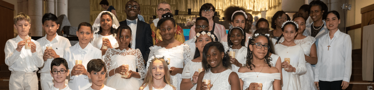 1ere communion 2018 - Eglise Catholique de Clichy-la-Garenne
